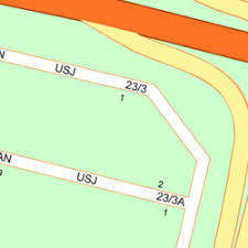 map usj 23 map of jalan usj 23 3a