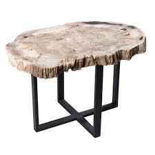 petrified wood upper east side table pf 1050 u2014 a i r e
