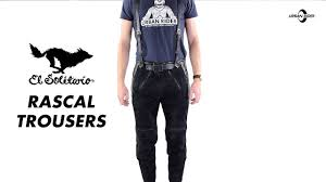 motorbike trousers el solitario rascal leather motorcycle trousers review urban