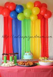 Circus Birthday Decorations Resultado De Imagen Para Decoracion Con Globos Sencilla Para