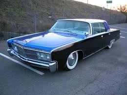 my grandparents had a cordoba white with blood red interior