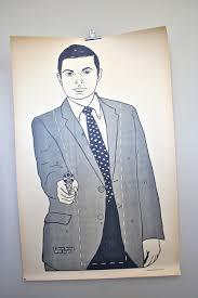 target gun cabinet black friday vintage paper shooting target rare large 1970 u0027s secret service