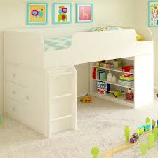 Bookcase Beds With Storage Viv Rae June Panel Bed With Bookcase And Storage Organizer