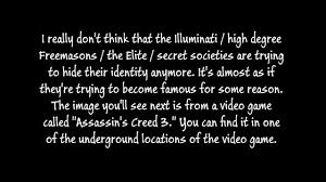 assassin u0027s creed 3 video game illuminati symbolism youtube