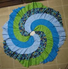 Peacock Tree Skirt Make Your Own Patchwork Skirt Tutorial This Could Be Pretty