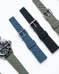 bracelet montre silicone images Bracelet de montre plong e tropic mati re silicone easy bar jpg