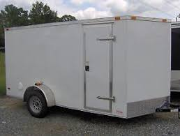 Enclosed Trailer Awning For Sale 7x16 Enclosed Trailer Ebay