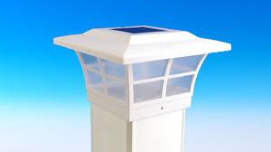 Solar Powered Post Cap Lights by Prestige Solar Post Cap Light By Classy Caps Youtube