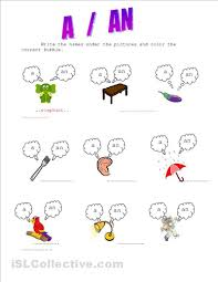 articles a an exercises for kids colores pinterest exercise
