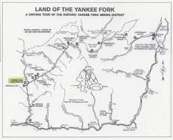 Map Of Custer State Park by Directions Yankee Fork Gold Dredge