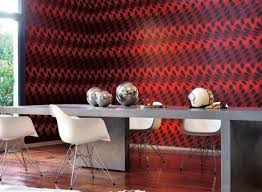 painting wallpaper wall coverings black and red wall covering