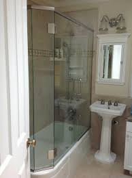 Shower Tub Door by Shower Bathtub Enclosures Wayfair Glass Pivot Door Enclosure
