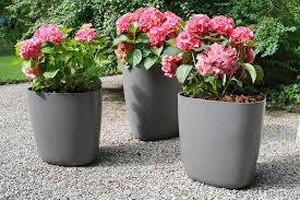 flower pot solar light garden pots and planters auckland home outdoor decoration