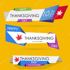 thanksgiving day banners depositphotos 124882838 stock illustration set of thanksgiving origami web jpg