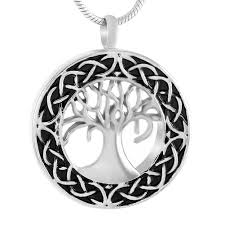 cremation jewelry celtic tree of urn necklace cremation jewelry johnston s