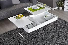 design couchtisch weiãÿ funktionaler design couchtisch fabric weiß chrom riess ambiente de
