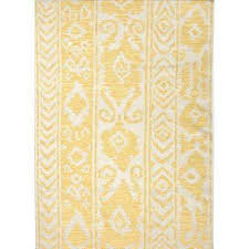 Yellow Flat Weave Rug Yellow Runner 3 U0027 And Larger Area Rugs Rugs The Home Depot