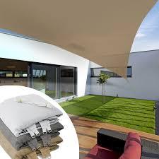 sonnensegel befestigung balkon balkon sonnensegel dreieck sand fünf größen dayton de