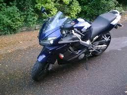 honda cbr 600 f honda cbr 600 f 2 2002 dark blue 12400 miles in basingstoke