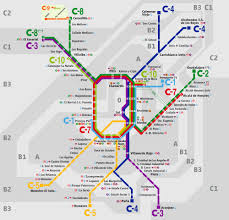 A Train Map Nyc Map Of Madrid Train Cercanías Stations U0026 Lines