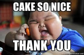 Thank You Meme Funny - meme cake so nice thank you graphic picsmine