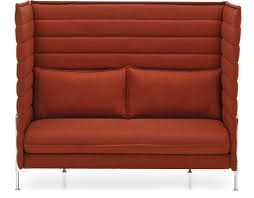 alcove highback two seater sofa hivemodern com