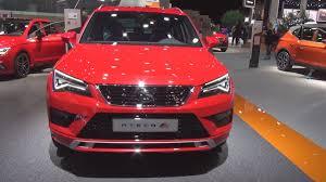 seat ateca interior seat ateca fr 2 0 tsi 190 hp 2018 exterior and interior youtube