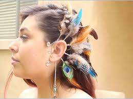 pics of ear cuffs feather ear cuff diy