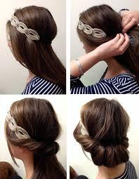 Frisuren Selber Machen Haarband by Frisuren Mit Haarband 30 Ideen Für Einen Romantischen Look