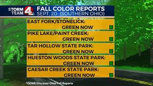 early peek u2026when expect peak fall colors nbc4i