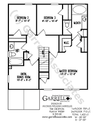 2nd floor plan crofton house plan house plans by garrell associates inc