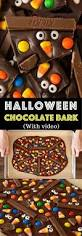 easy halloween chocolate bark tipbuzz