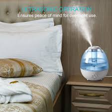 Gallery For Gt Light Blue And Gold Bedroom by Amazon Com Ultrasonic Cool Mist Humidifier Anypro Mist