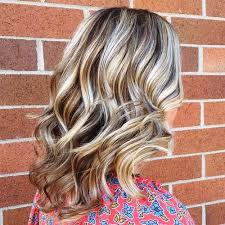 blonde hair with silver highlights hair style fashion