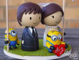 minion wedding cake topper wedding cake toppers minions image minion wedding cake topper 1000