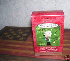 peanuts linus ornament ebay
