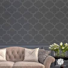 wall trellis design exotic trellis wallpaper wall stencils for diy painting royal