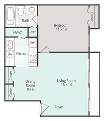 Floor Plan For 3 Bedroom Flat by 1 2 U0026 3 Bedroom Apartments In Mobile Family Place Apartments