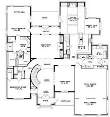 4 bedroom house blueprints 5 bedroom house blueprints 4 bedroom house designs storey