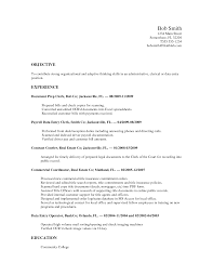 Sample Resume Objectives No Experience by Barista Resume No Experience Resume For Your Job Application