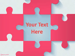 Free Puzzle Pieces Powerpoint Templates Myfreeppt Com Puzzle Powerpoint Template Free