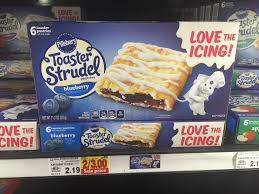Pillsbury Toaster Strudel Flavors Dillons Kroger Pillsbury Toaster Strudel Pastries Only 1
