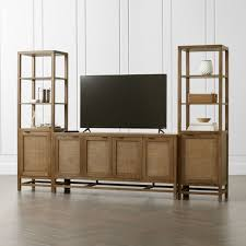 tv stands media consoles u0026 cabinets crate and barrel