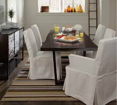 Dining Room Chair Slipcovers Dropcloth Slipcovers For Leather - Cheap dining room chair covers