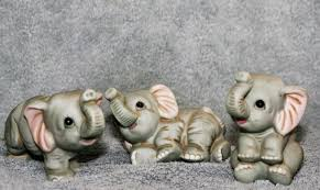 Homco Home Interiors Catalog Homco Home Interiors Set Of 3 Baby Elephants And 23 Similar Items