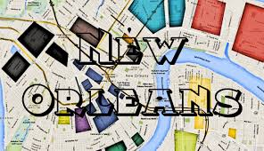 Street Map New Orleans French Quarter by Map Of New Orleans Hoods Ghetto And More