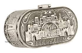 jewish shabbat candle holders jerusalem candlesticks judaica