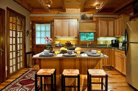 rustic cabin kitchen layout pictures best home rustic cabin
