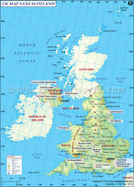 Northern Europe Map This Is How Uk Map Will Look Without Scotland Special Interest