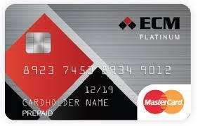 prepaid mastercards ecm prepaid mastercard ecm
